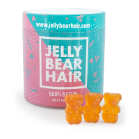 Jelly Bear Hair - żelki na włosy