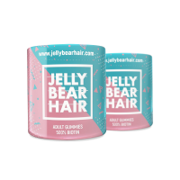 2x Jelly Bear Hair