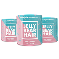 3x Jelly Bear Hair